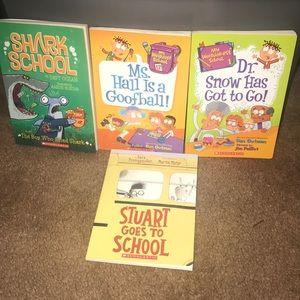 School fun 4 book bundle
